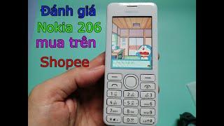 Mở hộp và đánh giá điện thoại Nokia 206