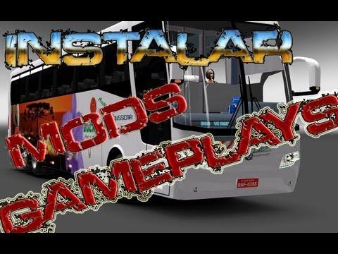 Euro Truck Simulator 2 capitulo 47 instalación del autobuss y