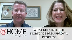 What Goes Into the Mortgage Pre-Approval Process?