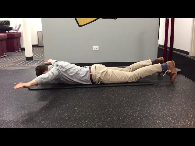 Reverse Snow Angel | Exercise Of The Week | Advanced Spine & Sports Care Chicago