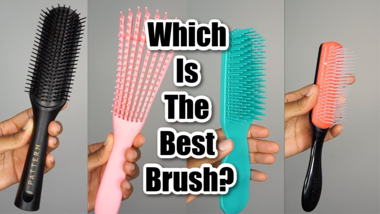Which Detangling Brush Is The Best Naturalhair Naturallycurlyhair Youtube