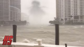 Giant Monster Spotted In Miami? HURRICANE #IRMA - 9/10/2017