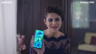 Samsung Galaxy M40: Jennifer goes #OMG!1080p
