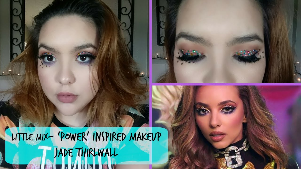 little mix power inspired makeup jade thirlwall makeup our reality youtube. Black Bedroom Furniture Sets. Home Design Ideas