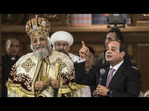 مصر: الأقباط يحيون قداس عيد الميلاد في ظل احتياطات أمنية شديدة