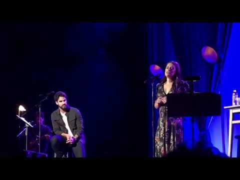 s of Lea Michele and Darren Criss performing in Nashville May 30, 2018