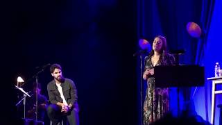 clips of lea michele and darren criss performing in nashville may 30 2018
