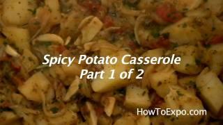 Potato Casserole (spicy Potato Casserole Recipe) Video