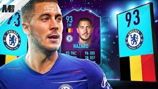 FIFA 19 POTM HAZARD REVIEW | 93 POTM HAZARD PLAYER REVIEW | FIFA 19 ULTIMATE TEAM