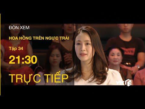 TRỰC TIẾP   TẬP 34: Hoa Hồng Trên Ngực Trái - Hụt Trúng Số, Khuê