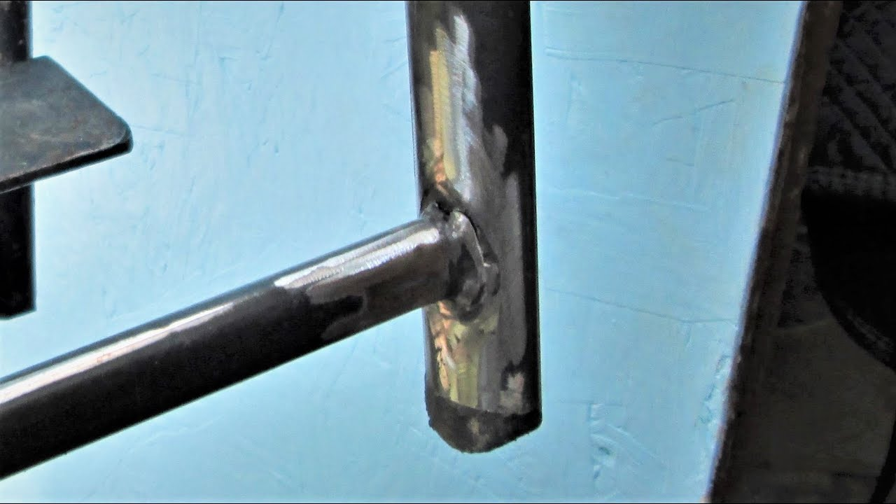 weld / repair metal lawn chair