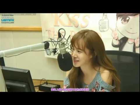 【中字】160626 Yuri @ Kiss The Radio