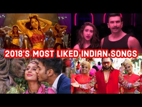 2018's Top 25 Most Liked Indian/Bollywood Songs on Youtube | Hindi Punjabi Songs