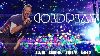 COLDPLAY IN MILAN, SAN SIRO | 3/4 July 2017