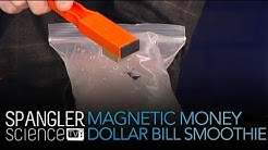 Magnetic Money - Dollar Bill Smoothie - Cool Science Experiment