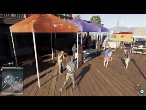 Watch Dogs 2 | San Francisco Pier 39 & The Fishermans Warf Gameplay
