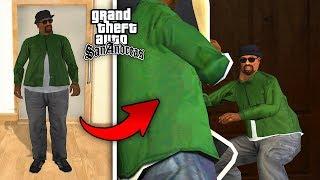вОТ что будет, если переодеть Сиджея как в Смоука в начале игры - СЕКРЕТ в GTA San Andreas !!!