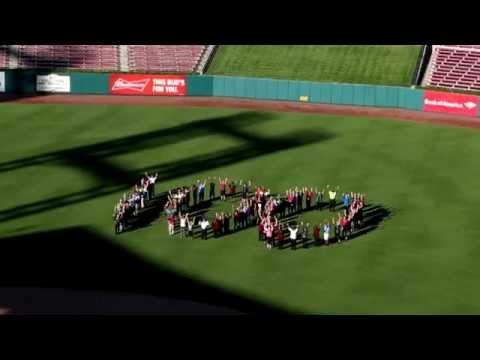Delaware North Sportservice 100th Anniversary Celebration: Busch Stadium