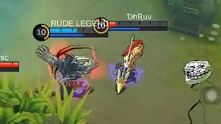 Funny mobile legend fanny but it's only one
