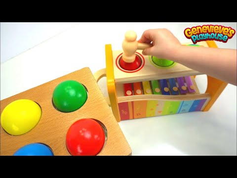 Thumbnail: Best Toddler Learning Compilation Video for Kids: Hour Long Preschool Toys Educational Toddler Movie