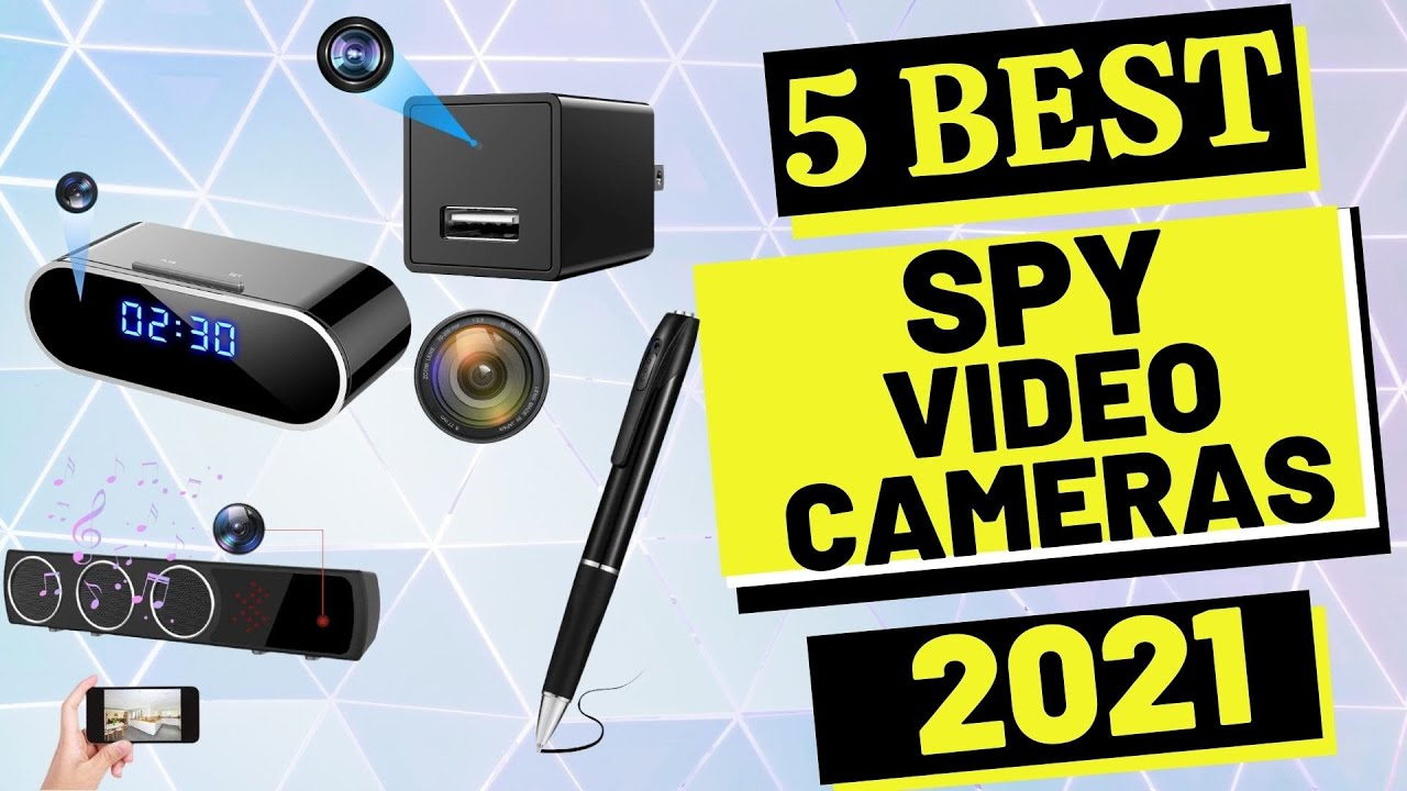 ✅ Top 5: Best Spy Video Camera 2021 | Excellent For Extra Home Security