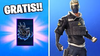 New SKINS, Dances and a Delta Wing *FREE* in Fortnite: battle royale!! Ice Storm Challenges
