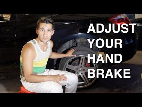 How to Tighten Your Handbrake