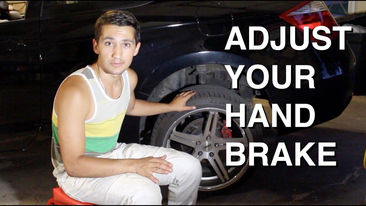 How To Tighten Your Handbrake Youtube Hyundai Lantra Wiring Diagram