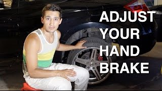 How to Tighten Your Handbrake