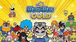 Full Story Mode and Challenges | WarioWare Gold [3DS] | Live Blind Gameplay