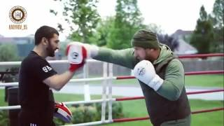 Ramzan Kadyrov Training
