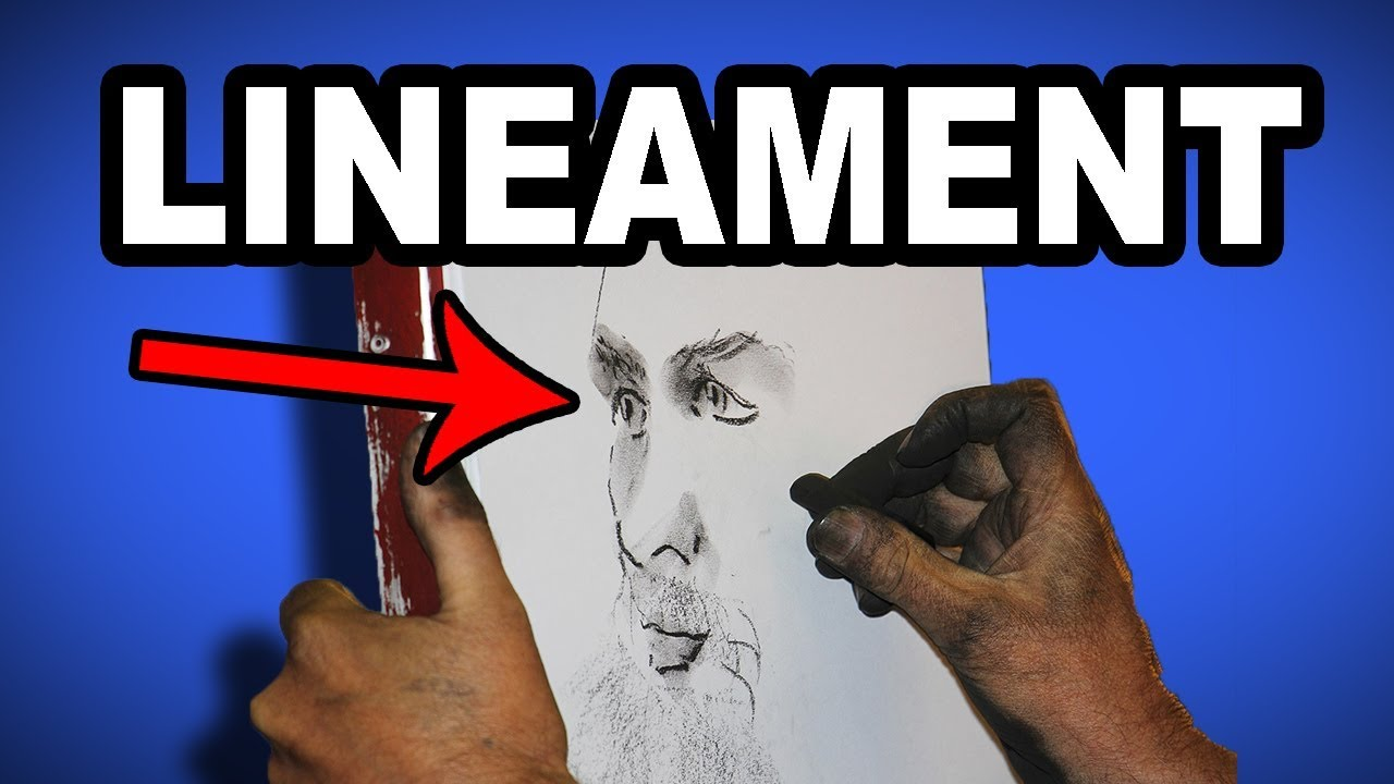 Learn English Words - LINEAMENT - Meaning, Vocabulary with
