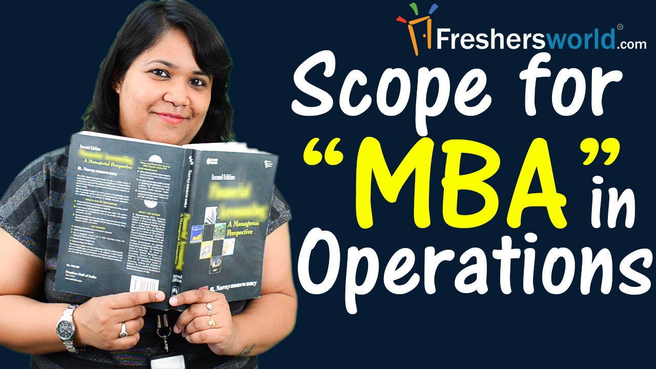 scope for mba in operations management degree cat top recruiters scope for mba in operations management degree cat top recruiters salary careers