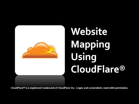 Website Domain Mapping Using CloudFlare