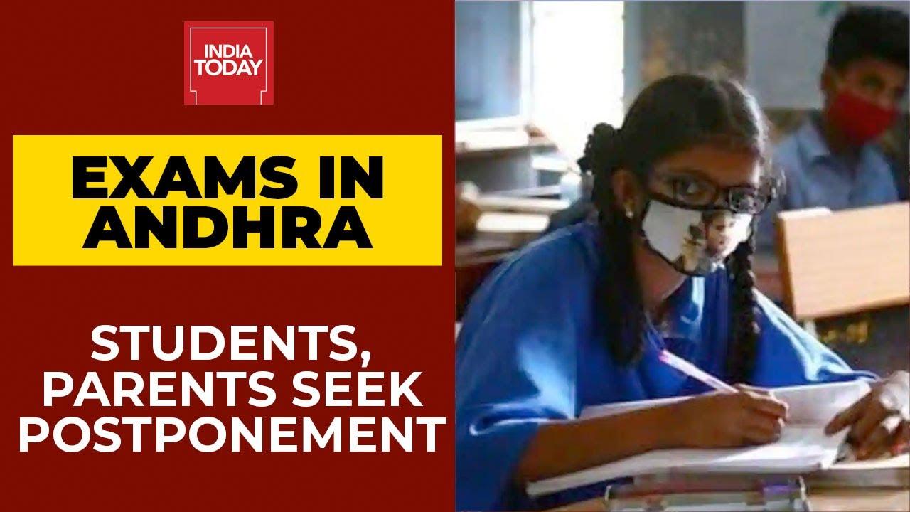 Download Andhra Govt Adamant On Conducting 10th & 12th Exams Amid Covid: Parents, Students Seek Postponement