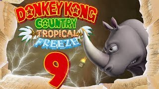 Let's Play Donkey Kong Country Tropical Freeze Part 9: Das shiny Tauros im Hurrikan