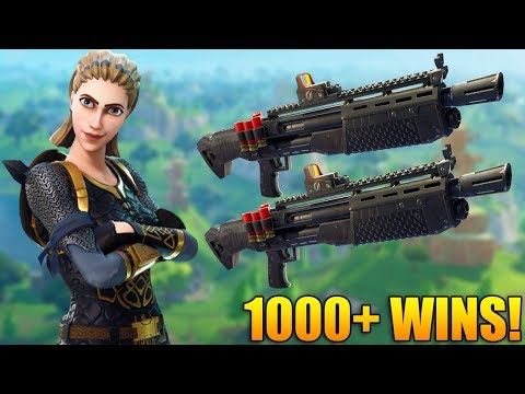 THE MOST OP THING IN FORTNITE! - Double Pump Is Back! - 1100+ Wins - Fortnite Battle Royale Gameplay thumbnail