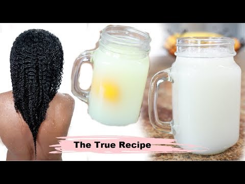 How To Make Rice Water - THE TRUTH RECIPE NOBODY SHOWS YOU ON YOUTUBE - Fine Low Porosity Hair