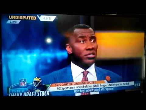 Shannon Sharpe speaking about Sean Taylor & Ed Reed.