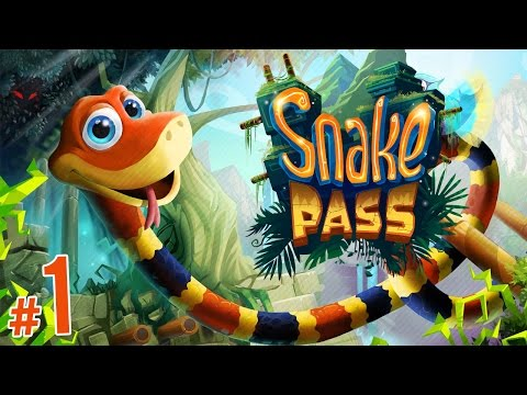 Snake Pass - Nintendo Switch's FIRST 3D Platformer! | PART 1