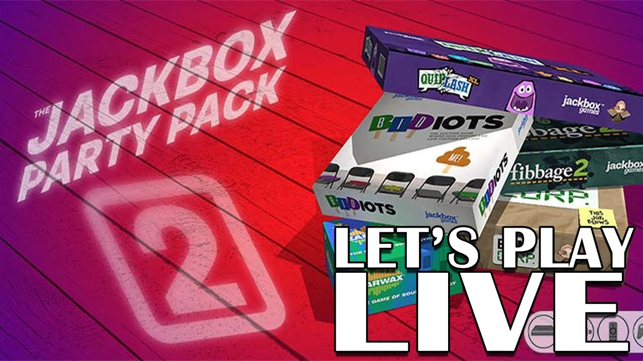 The Jackbox Party Pack 2 - Live PS4 gameplay - YouTube