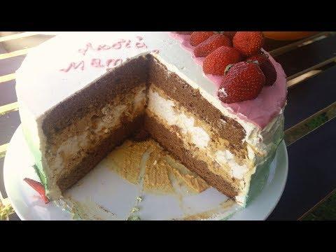 Торт Сникерс Очень Вкусный торт с Безе. Бисквитный торт с безе. Cake Snickers