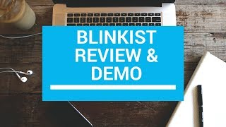 Blinkist Premium Review & Demo: Read Books in 10 Minutes| Audiobook Summary App - How It Works