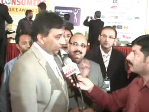 7th CONSUMER ASSOCIATION AWARDS,RAZA HAROON INTERVIEW BY MAHER HAMEED - YouTube.flv
