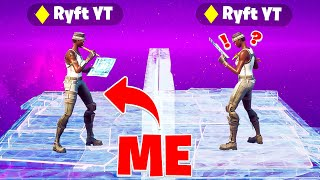 I Got Caught Pretending to be Ryft in Fortnite... (he confronted me)