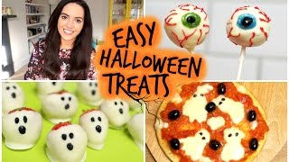 Easy Halloween Treats | velvetgh0st ♡ Thumbnail
