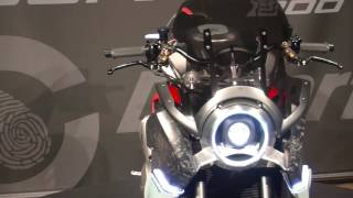 RIMINI: Ecco la Honda Burasca, concept bike by Aldo Drudi - VIDEO