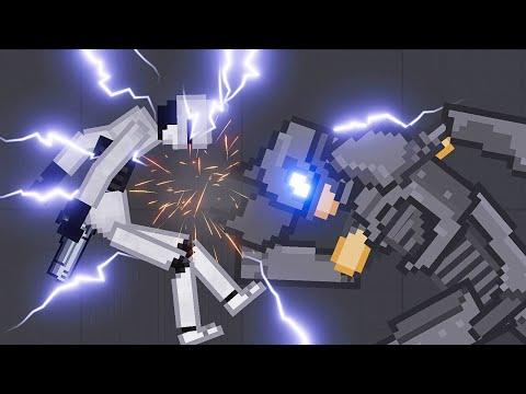 ROBOCOP vs Spider-Man Villains Mod [Zebra Gaming TV] People Playground 1.14
