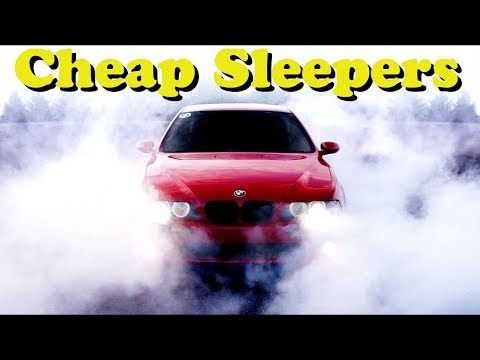 5 Fast and Cheap Sleeper Cars!