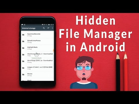 How To Find Hidden File Manager In Android | Fastest Android File Manager